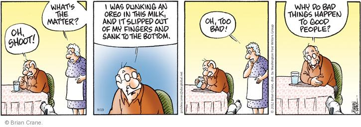 Comic Strip Brian Crane  Pickles 2012-09-19 bad