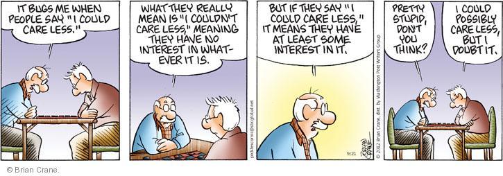 Comic Strip Brian Crane  Pickles 2012-09-21 possibly