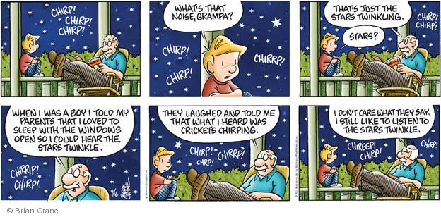 Comic Strip Brian Crane  Pickles 2012-09-16 hear