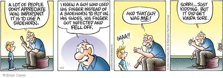 Comic Strip Brian Crane  Pickles 2012-10-02 guy