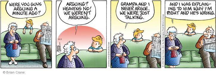 Comic Strip Brian Crane  Pickles 2012-10-03 husband