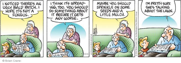 Comic Strip Brian Crane  Pickles 2012-10-11 worse