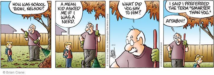 Comic Strip Brian Crane  Pickles 2012-10-15 term