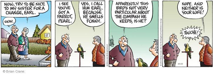 Comic Strip Brian Crane  Pickles 2012-10-22 bird