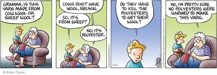 Comic Strip Brian Crane  Pickles 2012-10-27 empathy