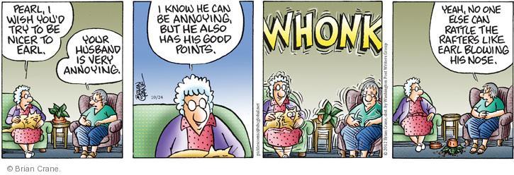 Comic Strip Brian Crane  Pickles 2012-10-24 rafter