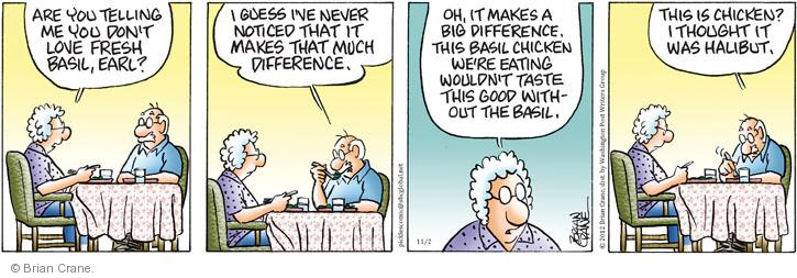 Comic Strip Brian Crane  Pickles 2012-11-02 good thought