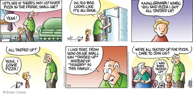 Comic Strip Brian Crane  Pickles 2012-11-04 bad