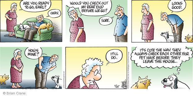 Comic Strip Brian Crane  Pickles 2012-11-25 checkout