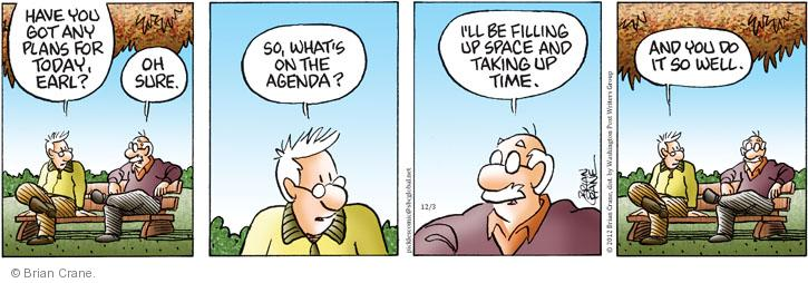 Comic Strip Brian Crane  Pickles 2012-12-03 take