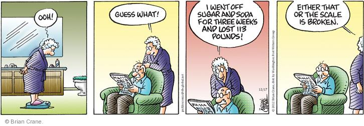 Comic Strip Brian Crane  Pickles 2012-12-17 sugar