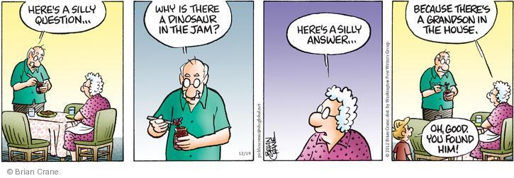 Comic Strip Brian Crane  Pickles 2012-12-19 him