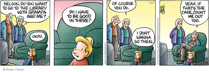 Comic Strip Brian Crane  Pickles 2012-12-26 grandparent