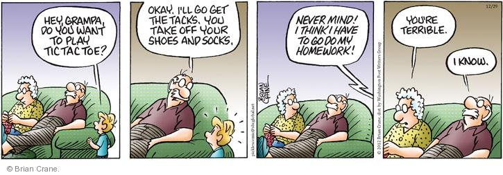 Comic Strip Brian Crane  Pickles 2012-12-29 grandparent