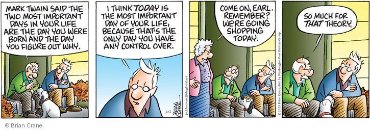Comic Strip Brian Crane  Pickles 2013-01-02 husband
