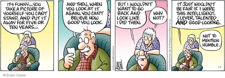 Comic Strip Brian Crane  Pickles 2013-01-04 take