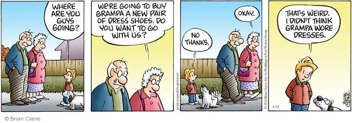 Comic Strip Brian Crane  Pickles 2013-01-11 guy