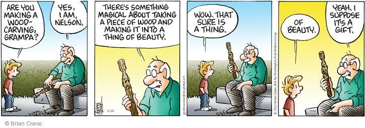 Comic Strip Brian Crane  Pickles 2013-01-24 take