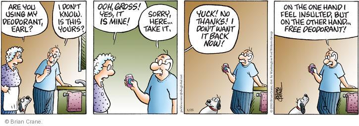 Comic Strip Brian Crane  Pickles 2013-01-25 take