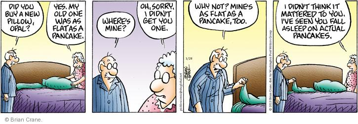 Comic Strip Brian Crane  Pickles 2013-01-28 get old