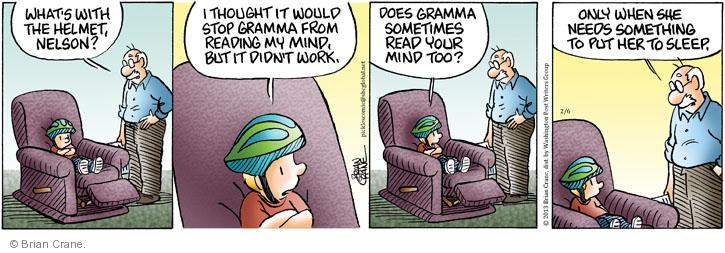 Comic Strip Brian Crane  Pickles 2013-02-06 too
