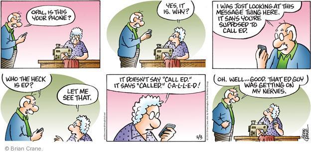 Comic Strip Brian Crane  Pickles 2013-02-03 good guy