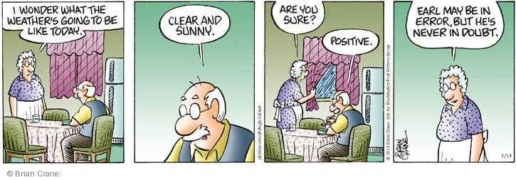 Comic Strip Brian Crane  Pickles 2013-02-14 error