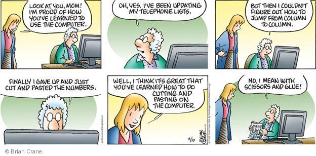Comic Strip Brian Crane  Pickles 2013-02-10 scissors