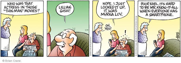Comic Strip Brian Crane  Pickles 2013-02-28 smartphone