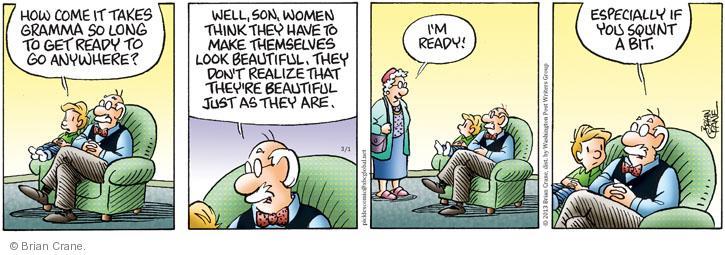 Comic Strip Brian Crane  Pickles 2013-03-01 female