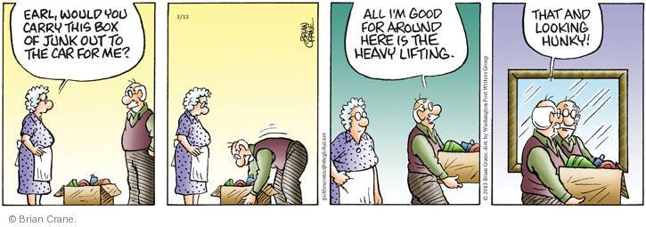 Comic Strip Brian Crane  Pickles 2013-03-13 husband