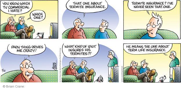 Comic Strip Brian Crane  Pickles 2013-03-10 term