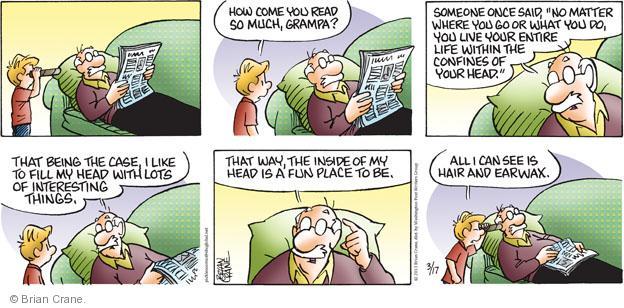 Comic Strip Brian Crane  Pickles 2013-03-17 case