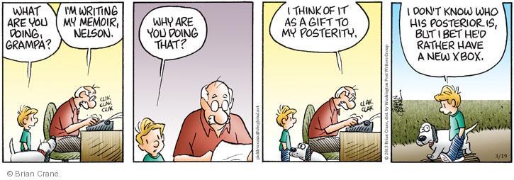 Comic Strip Brian Crane  Pickles 2013-03-19 author