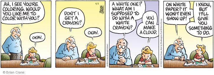 Comic Strip Brian Crane  Pickles 2013-04-01 white