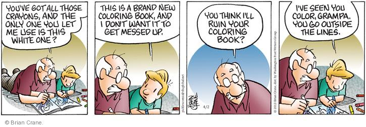 Comic Strip Brian Crane  Pickles 2013-04-02 ruin