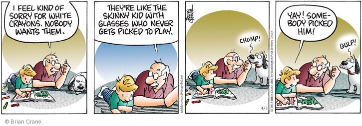 Comic Strip Brian Crane  Pickles 2013-04-03 him