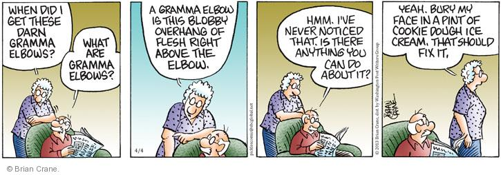 Cartoonist Brian Crane  Pickles 2013-04-04 cookie