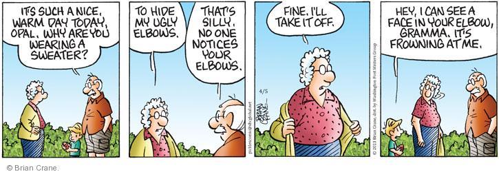 Comic Strip Brian Crane  Pickles 2013-04-05 warm