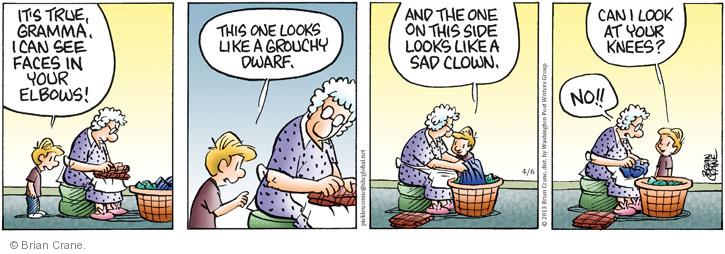 Comic Strip Brian Crane  Pickles 2013-04-06 grouchy