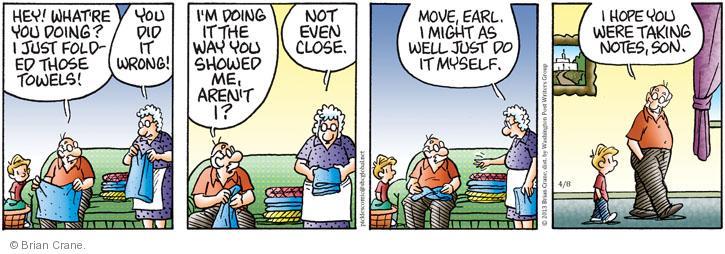 Comic Strip Brian Crane  Pickles 2013-04-08 did the trick