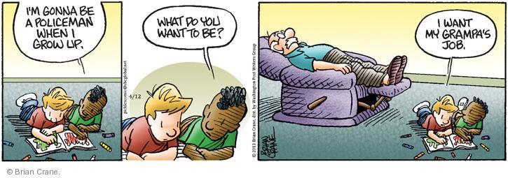 Comic Strip Brian Crane  Pickles 2013-04-12 laziness
