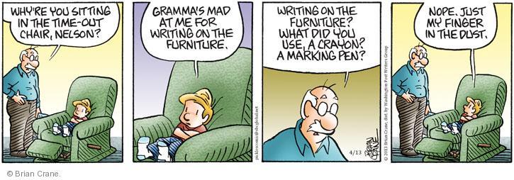 Comic Strip Brian Crane  Pickles 2013-04-13 grandparent