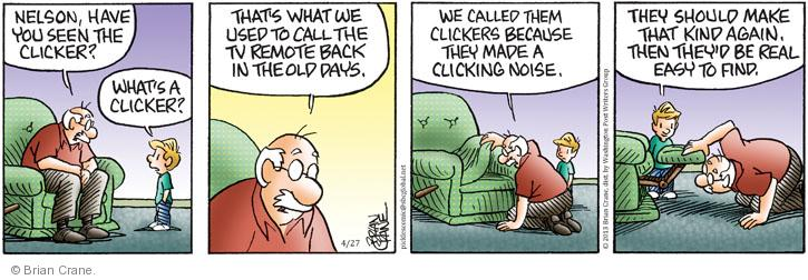 Comic Strip Brian Crane  Pickles 2013-04-27 lose