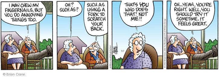 Comic Strip Brian Crane  Pickles 2013-05-02 great