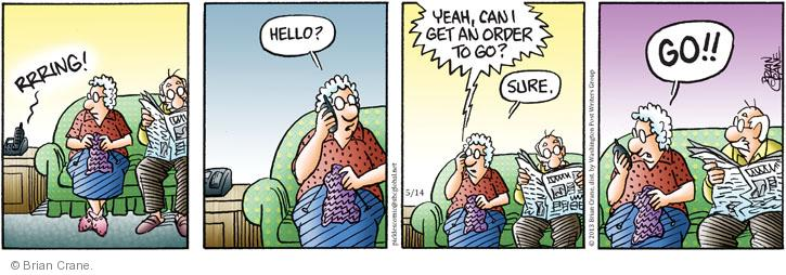 Comic Strip Brian Crane  Pickles 2013-05-14 number