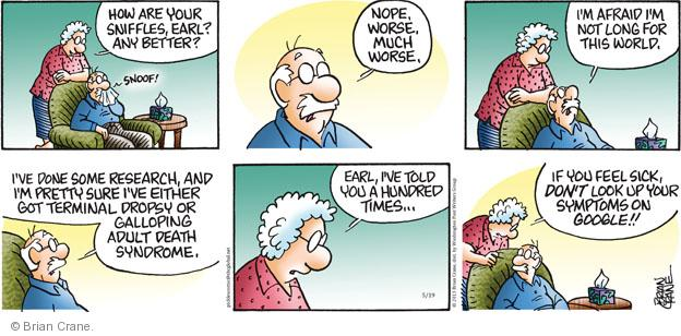 Comic Strip Brian Crane  Pickles 2013-05-19 adult