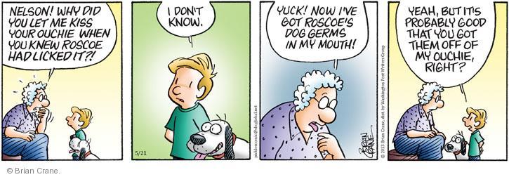 Comic Strip Brian Crane  Pickles 2013-05-21 germ