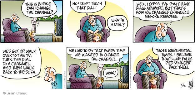Comic Strip Brian Crane  Pickles 2013-05-26 grandparent