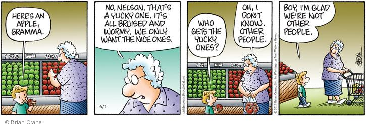 Comic Strip Brian Crane  Pickles 2013-06-01 yuck